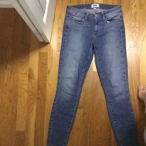 PAIGE light wash jeans size 27
